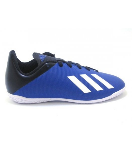 adidas x19.4 in j royal blue futsal indoor ef1623